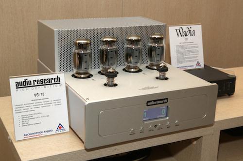 Усилитель Audio Research VSi 75: необычный гибрид