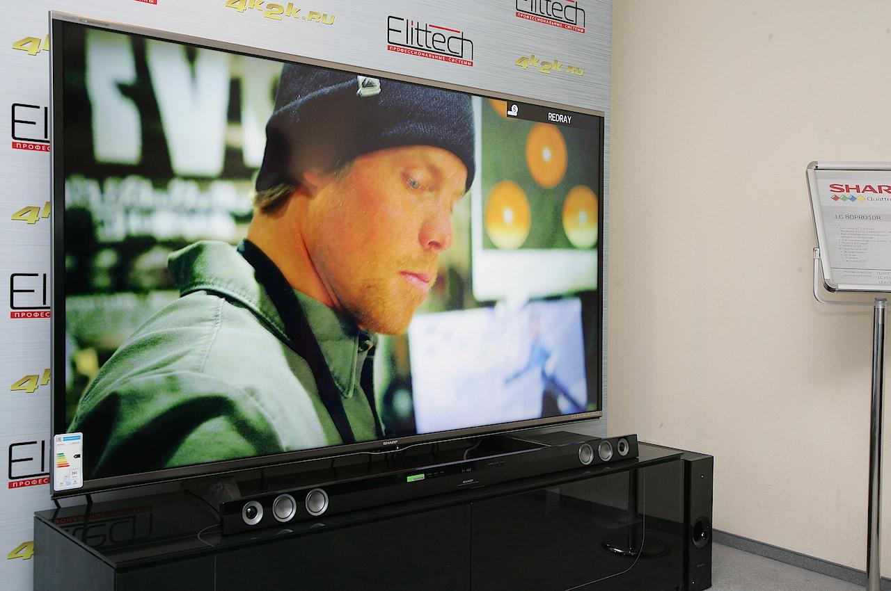 Sharp LC80PRO10R: из Full HD в 4К